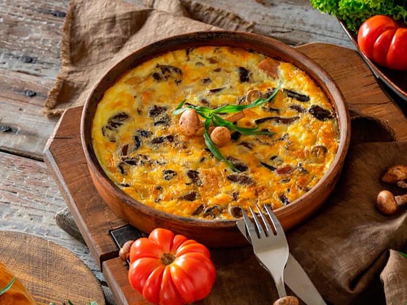 receta de frittata de pollo con verduras - Carnicería Félix Gonzalo