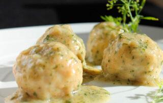 Albóndigas de pollo en salsa - Carnicería Félix Gonzalo