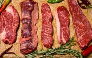 cortes de la carne de ternera - Carnicería Félix Gonzalo